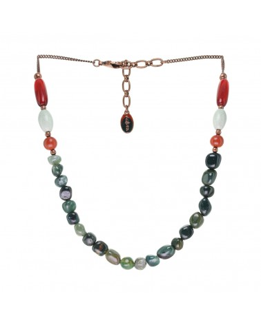 RED HORN collier simple Nature bijoux