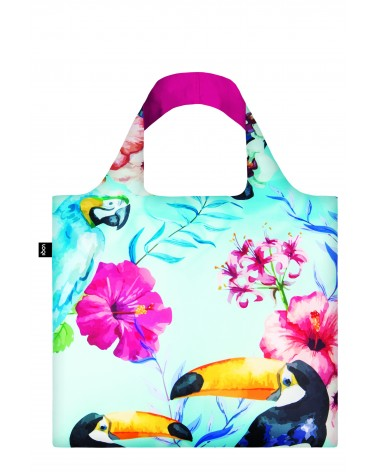 Sac de courses pliable WILD Birds Bag LOQI
