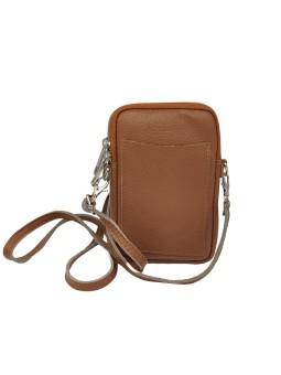 Bracelet en cuir Adele mini aimant Doré Quadrillé Flowers for Zoé