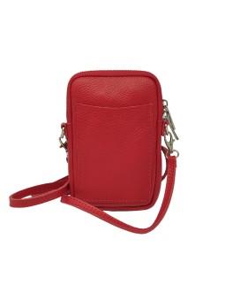 Bracelet en cuir mini multiliens tube Marine irisé Flowers for Zoé
