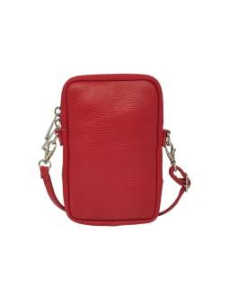 Bracelet en cuir mini multiliens tube Or rosé Flowers for Zoé