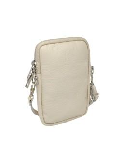 Bracelet en cuir multiliens tube Rose Cerisier rosé Flowers for Zoé