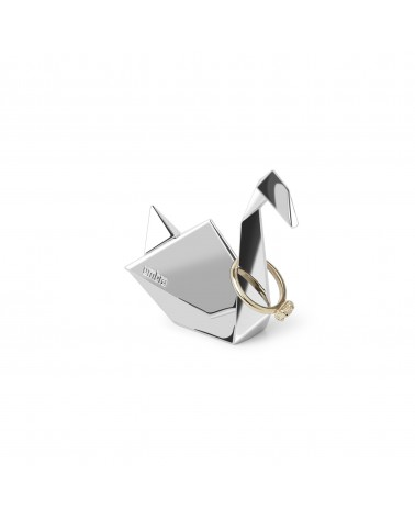 UMBRA - Origami Swan Ring holder Chrome