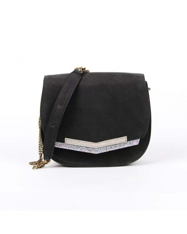 Antoinette Ameska - Oslo Clutch Bag Black