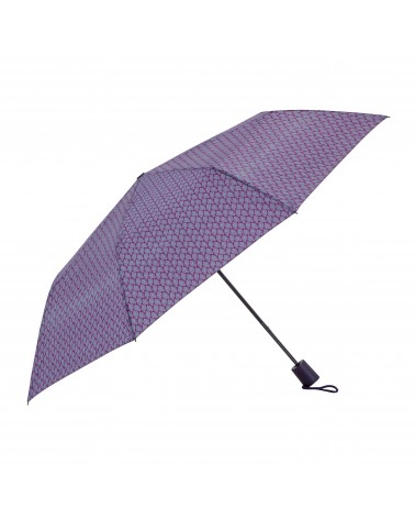Chic il pleut - Mini Automatic Folding Umbrella Leaf