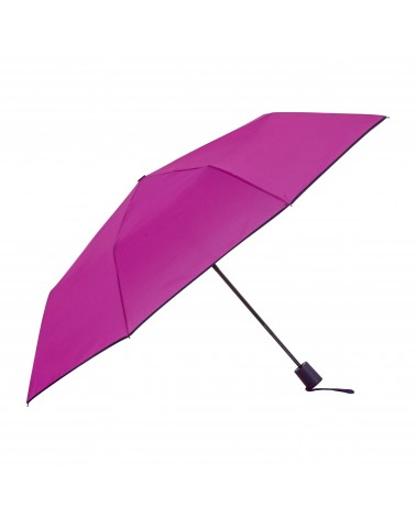 Chic il pleut - Mini Automatic Folding Umbrella Magenta Poupre