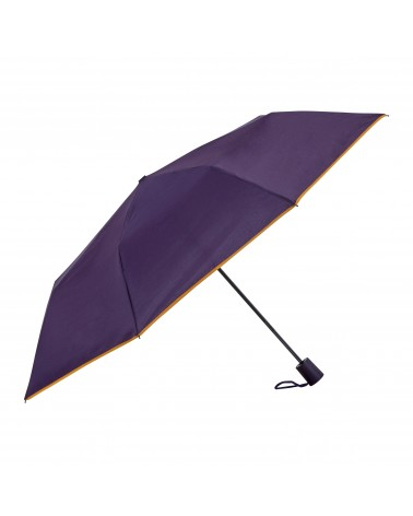 Chic il pleut - Mini Automatic Folding Umbrella Poupre Gold