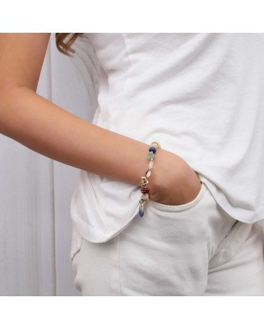 Nature Bijoux - BAHIA heishi stretch bracelet