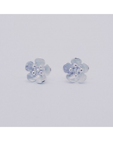 Georgia Charal - Earrings silver 925 little flower