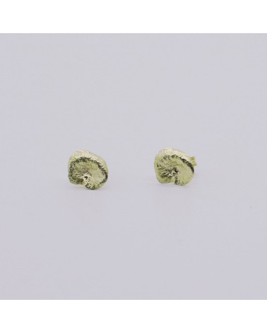 Georgia Charal - Earrings silver 925 gold plated small seeds