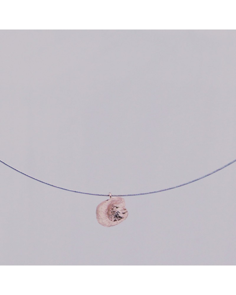 Georgia Charal - Pendant Necklace silver 925 rose gold plated seeds