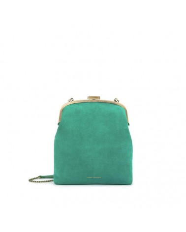 Tammy & Benjamin - EMMA Peacock Leather Retro Pouch