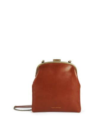 Tammy & Benjamin - EMMA Brown Leather Retro Pouch