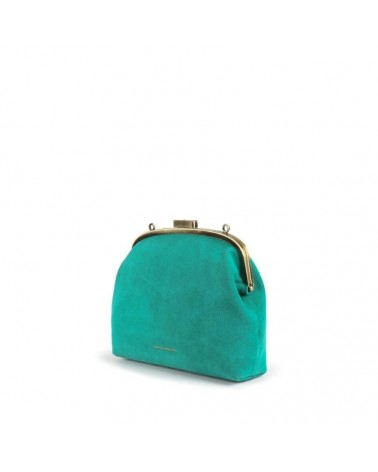 Tammy & Benjamin - EMMA MINI Peacock Leather Retro Pouch
