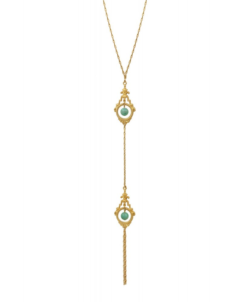 BY ZIA - Necklace Bali Green