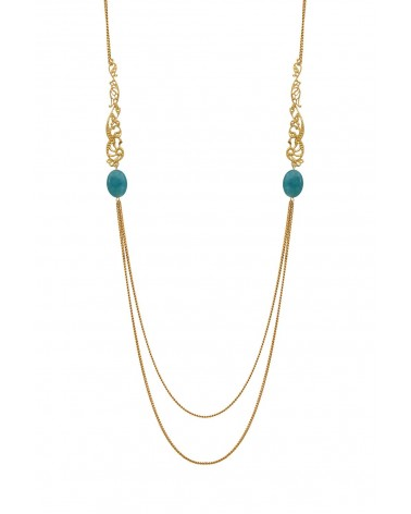 BY ZIA - Necklace Becka Blue