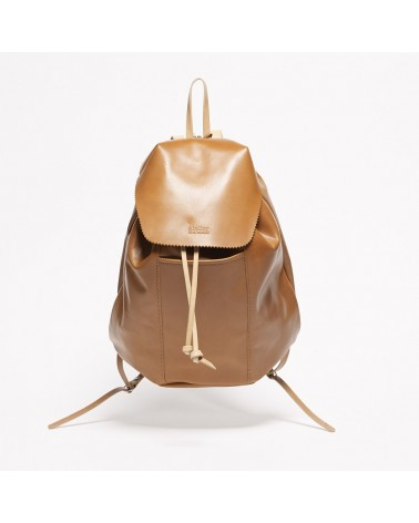 Jack Gomme - POETE Miel Leather Backpack
