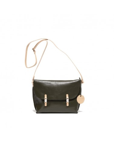 Jack Gomme - REVE Khaki Leather bag