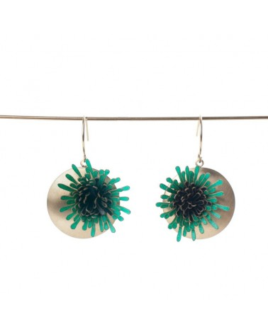 Paca Peca - Anemona Long Earrings
