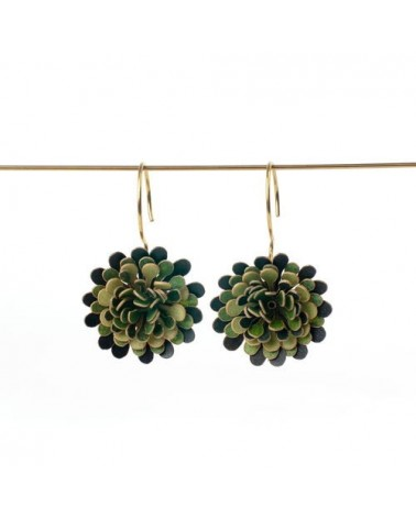 Paca Peca - Calendula Pompon Earrings