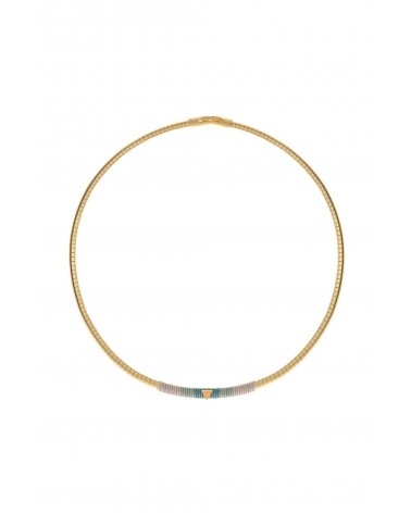 Shlomit Ofir -  Cliff Collar  Necklace Gold