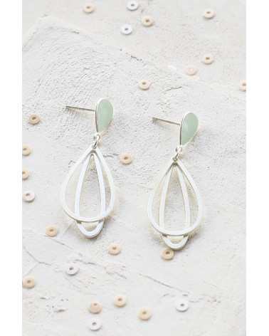 Shlomit Ofir - Boucles d'oreille Small Ola Argenté