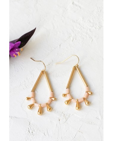 Shlomit Ofir - Boucles d'oreille Monsoon Doré