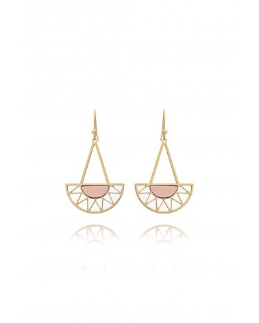 Shlomit Ofir - Boucles d'oreille Summer Doré