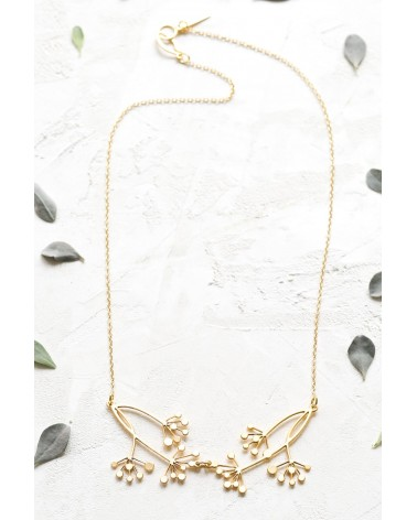 Shlomit Ofir - Hanabi Necklace Gold