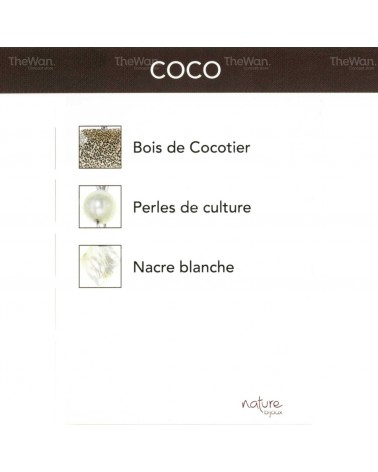 Nature bijoux - COCO Collier goutte