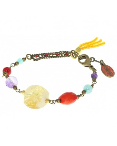 Nature bijoux - RHAPSODY Gros bracelet mix