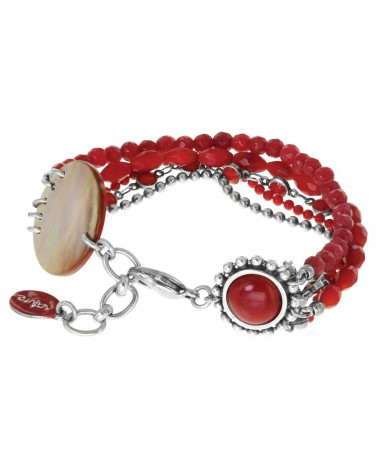 Nature bijoux - RUBY Bracelet 5 rangs