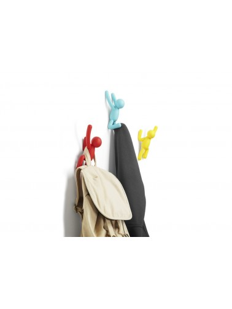 Porte manteau Patère Birdseye noir UMBRA