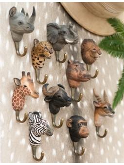Coussin coton turquoise/gris 45 cm