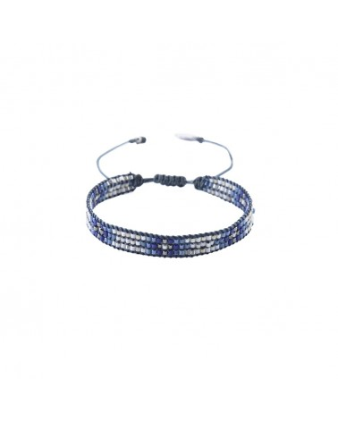 Mishky - Bracelet artisanal perles cousues main Track-BE-S-6302