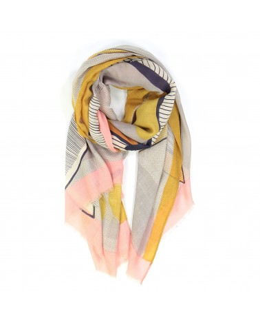 Ma Poesie Foulard Nature morte quartz