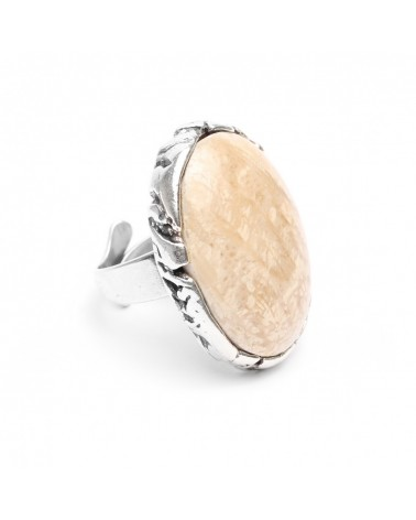 Nature bijoux - ANAY bague fossile
