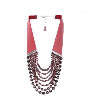 Nature bijoux - GRENAT Collier Court