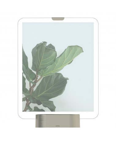 UMBRA - Cadre Photo GLO PD 8 x 10 Socle Nickel