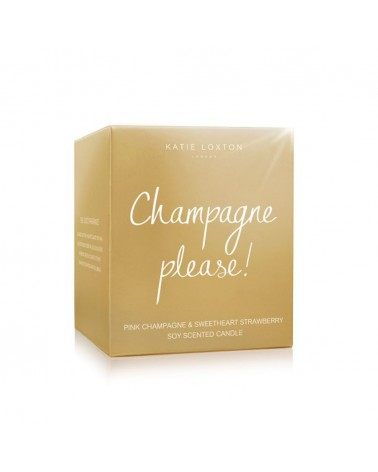 Katie Loxton - Bougie Metallic - Champagne Please