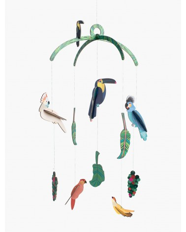 Studio Roof - Décoration - Mobile Exotic Birds