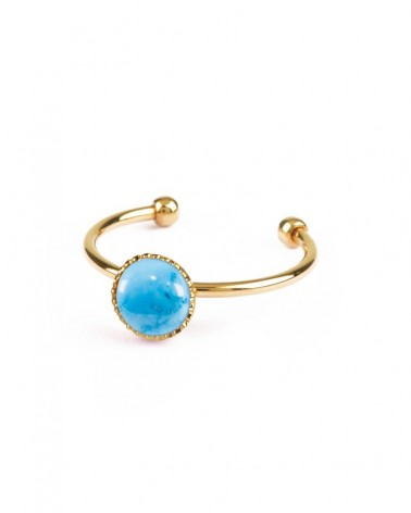 Nilaï - Athena ring 24k gold plated