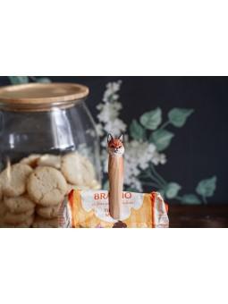 Bracelet brodé BELI Doré Jaune/Turquoise/Noir NAHUA