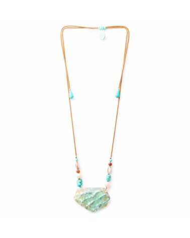 Nature bijoux - MANGAREVA Collier long ajustable