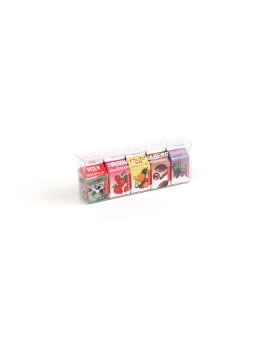 Kikkerland - Scented Easers Pack of 5