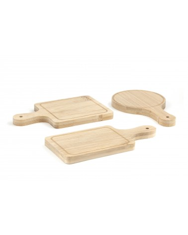Kikkerland - Mini planches set apéro Lot de 6 pcs