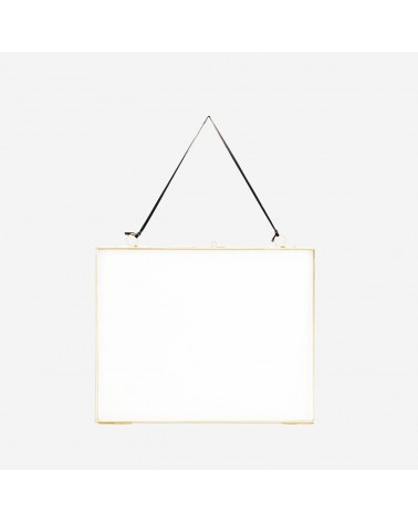 Madam Stoltz Gold hanging photo frame 20x25cm