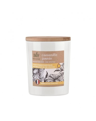 Bougie la française - Scented candle vegetable wax 50h Chamomile Jasmine 230g