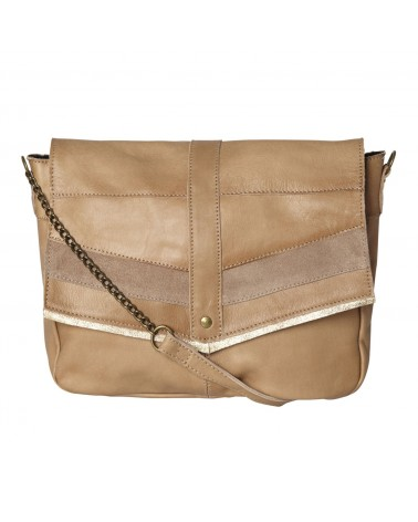 PIECES - PCFRANCES Leather bag Crossbody bag for Women Nature