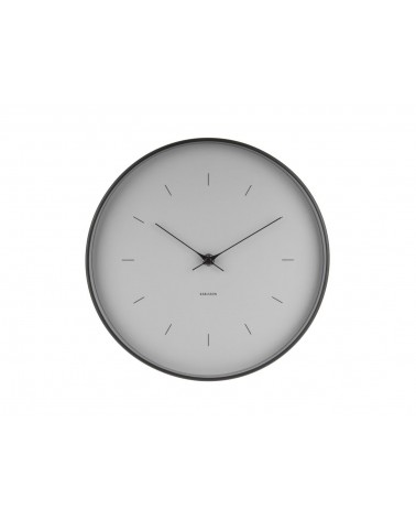 Present time - Karlsson Wall Clock Butterfly grey